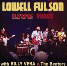 Lowell Fulson: Live 1983: W/Billy Vera & The Beaters, CD