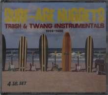 Surf-Age Nuggets: Trash & Twang Instrumentals 1959 - 1966, 4 CDs