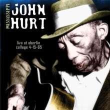 Mississippi John Hurt: Live At Oberlin College 1965, CD