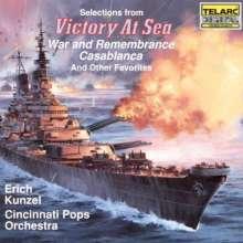 Erich Kunzel: Filmmusik: Victory At Sea/Casablanca/War And..., CD
