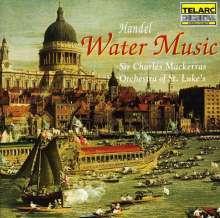 Georg Friedrich Händel (1685-1759): Wassermusik, CD