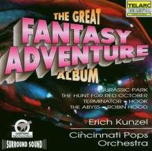 Erich Kunzel: Filmmusik: The Great Fantasy Adventure Album, CD