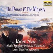 Robert Shaw Festival Singers - Power & Majesty, CD