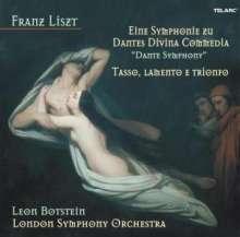 Franz Liszt (1811-1886): Dante-Symphonie, CD