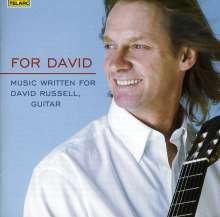 David Russell - For David, CD