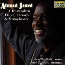 Ahmad Jamal (geb. 1930): I Remember Duke,Hoagy & Strayhorn, CD