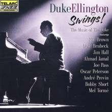 Brown/Brubeck/Hall/Jamal/Pass/Peterson u.a.: Duke Ellington ... Swings!, CD
