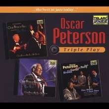 Oscar Peterson (1925-2007): Triple Play, 3 CDs