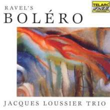 Jacques Loussier (1934-2019): Ravel's Bolero, CD