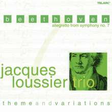 Jacques Loussier (1934-2019): Beethoven: Allegretto From Symphony No. 7, CD