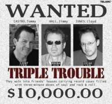 Castro/Hall/Jones: Triple Trouble, CD