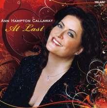 Ann Hampton Callaway: At Last, CD