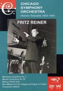 Fritz Reiner - Historic Telecasts, DVD