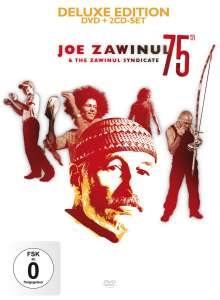 Joe Zawinul (1932-2007): 75th: Live 2007 (Deluxe Edition DVD + 2 CD Set), 2 CDs und 1 DVD