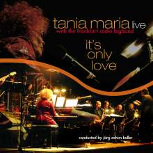 Tania Maria (geb. 1948): It's Only Love (180g) (LP + CD), 1 LP und 1 CD