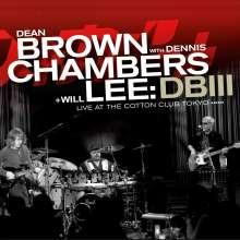 Dean Brown (geb. 1955): DB III (180g) (LP + CD), 1 LP und 1 CD