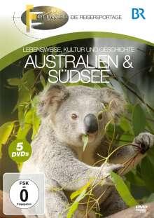 Australien & Südsee, 4 DVDs
