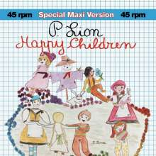 P. Lion: Happy Children (45 RPM), Single 12""