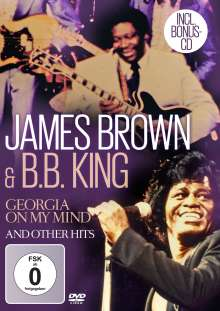 James Brown & B.B. King: Georgia On My Mind And Other Hits, 1 DVD und 1 CD