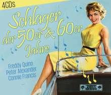 Schlager der 50er & 60er Jahre, 4 CDs