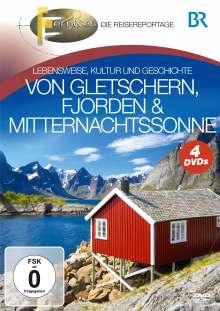 Von Gletschern, Fjorden & Mitternachtssonne, 4 DVDs