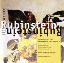 Anton Rubinstein (1829-1894): Klavierkonzert 4 Op.70, CD