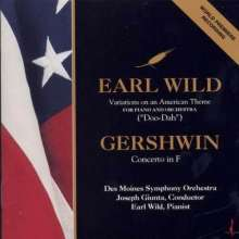 Earl Wild (1915-2010): Variations on an American Theme for Piano & Orchestra, CD