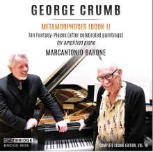 George Crumb (geb. 1929): Metamorphosen Heft I, CD