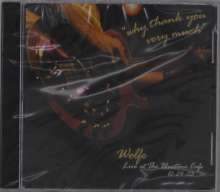 Todd Wolfe: Why Thank You Very Much: Live At The Bluetone Cafe 2003, CD