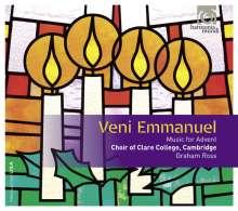 Clare College Choir Cambridge - Veni Emmanuel (Musik zum Advent), CD