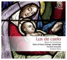 Clare College Choir Cambridge - Lux de Caelo, CD