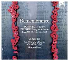 Clare College Choir Cambridge - Remembrance, CD