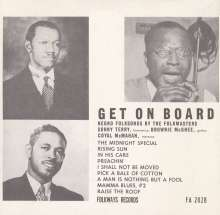 Terry/Mcghee/Mcmahan: Get On Board: Negro Folksongs, CD