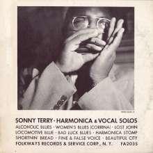 Sonny Terry: Sonny Terry-Harmonica & Vocal, CD