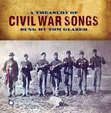 Tom Glazer: Treasury Of Civil War Songs, CD