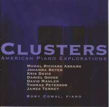 Rory Cowal - Clusters: American Piano Explorations, CD