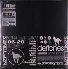 Deftones: White Pony (20th Anniversary) (Limited Deluxe Edition) (Indie Retail Exclusive) , 4 LPs