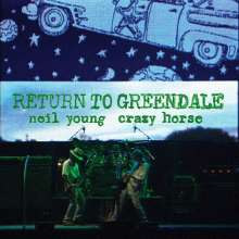 Neil Young: Return To Greendale (Limited Numbered Deluxe Edition), 2 LPs, 2 CDs, 1 Blu-ray Disc und 1 DVD
