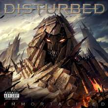 Disturbed: Immortalized (Deluxe-Edition), CD