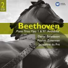 Ludwig van Beethoven (1770-1827): Klaviertrios Nr.1-3,7,8,10, 2 CDs