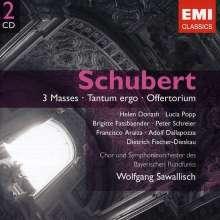 Franz Schubert (1797-1828): Messen D.452,678,950, 2 CDs