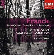Cesar Franck (1822-1890): Symphonie d-moll, 2 CDs