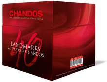 40 Years of Chandos - Landmarks, 40 CDs