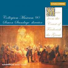 Musik am Hofe Friedrich des Großen, CD