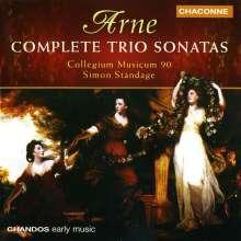Thomas Arne (1710-1778): Triosonaten Nr.1-7, CD