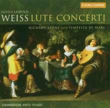 Silvius Leopold Weiss (1687-1750): Lautenkonzerte, CD