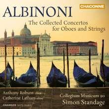 """Tomaso Albinoni (1671-1751): Oboenkonzerte opp.7 & 9 """"Concerti a cinque"""", 3 CDs"""