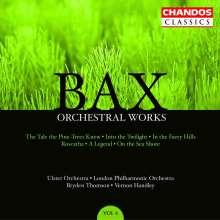 Arnold Bax (1883-1953): Orchesterwerke, CD