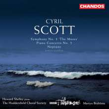 "Cyril Scott (1879-1970): Symphonie Nr.3 ""The Muses"", CD"