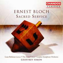 "Ernest Bloch (1880-1959): Avodath Hakodesh ""Sacred Service"", CD"